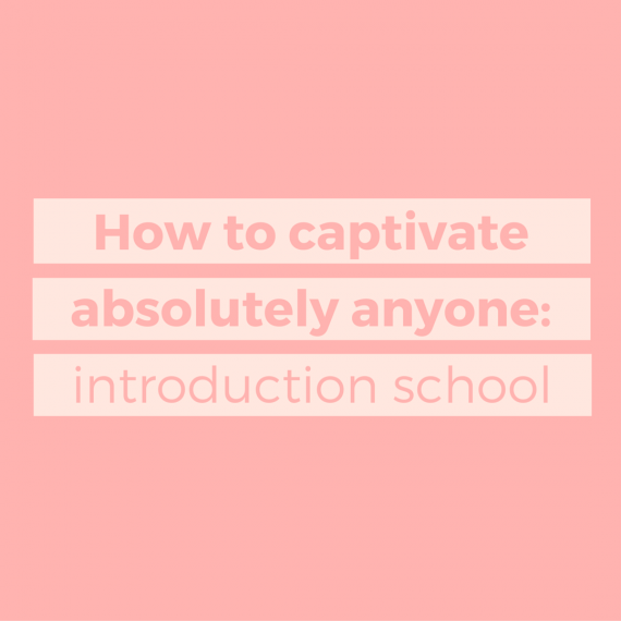Welcome to Introduction School. Learn how to write an introduction (and how to captivate absolutely everyone with a hook-line-and-sinker intro) | via SeeBrittWrite.com
