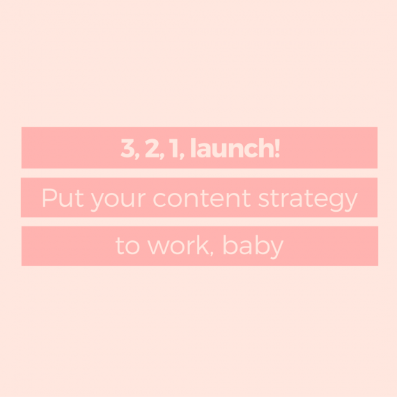 Ready to stop planning and start doing? Here's how to get your content strategy out of your head, onto paper, and into action. | via SeeBrittwrite.com
