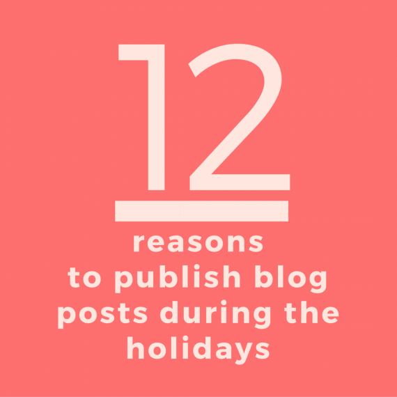 The #1 reason businesses should blog during the holidays? Airport layovers. Here are 11 more | via SeeBrittWrite.com
