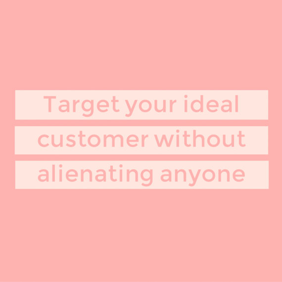 For content-creating businesses, customers, not audiences, are the end-game. Here's how to target yours (without alienating your readers) | via SeeBrittWrite.com