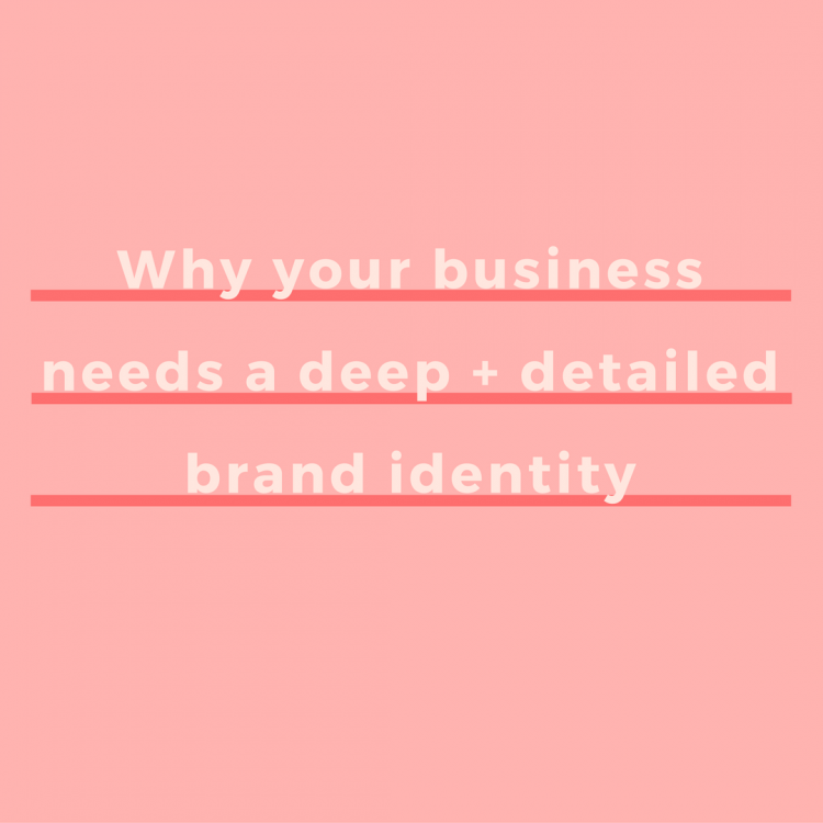 A brand identity is how you want other people—competitors, clients, and customers—to think about you. Here's exactly why spending time on it matters. | via SeeBrittWrite.com