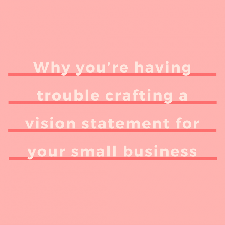 Vision statements are tough, but they're harder for those of us who are small-picture thinkers. Having trouble projecting where your business will be down the road? Let me help you craft a vision statement by training your brain to think big. | via SeeBrittWrite.com