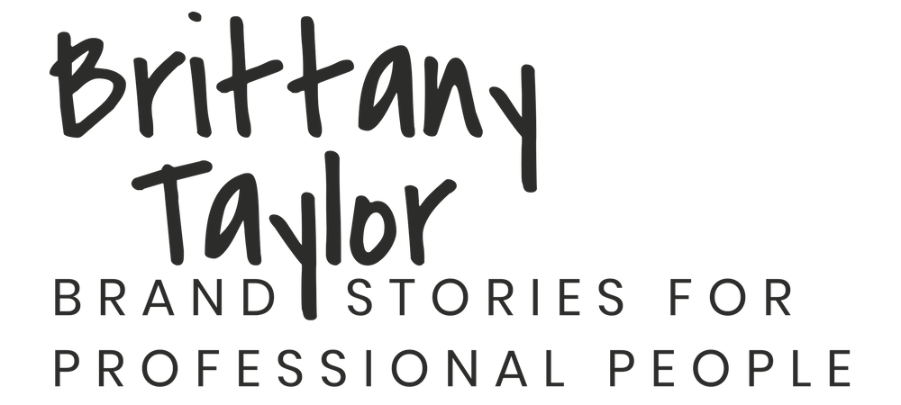 Brittany Taylor | brand stories for professional people | Charleston, S.C.
