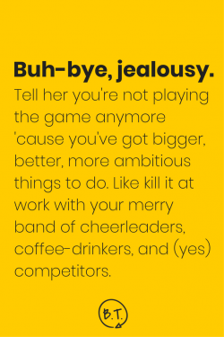 Spoiler alert: There's no winner or loser in the game of life. The sooner you stop the zero-sum game that's playing in your head, the better off you'll be. Here's how to tap out of the competition and get back in the zone, personally and professionally. | via Brittany Taylor at seebrittwrite.com | brand stories for professional people