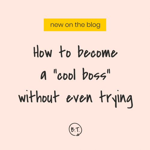 """Popular. Well-liked. Adored and obsessed over. Being the person everyone else flocks to is kind of dreamy—and a super common dream. But is being the """"cool boss"""" something you should strive for? No, and this is why. 