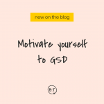 I don't want to write a blog post right now. Right now, I'd rather do just about anything else. But according to my planner—and my business goals—it's time for me to write a blog post, and that's what I'm going to do. And while I'm at it, I'm showing you how to motivate yourself when you're not feeling the work thing, either. Read on for my top-3 motivators for getting stuff done when I'm not in the mood. | by Brittany Taylor | Brand stories, blog posts, and bios for professional people