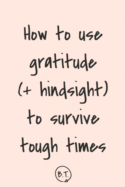 After stewing in my own emotional mess for way too long, I figured out how to pull myself out. Here's how to use gratitude to survive and conquer. | by Brittany Taylor | Brand stories, blog posts, and bios for professional people