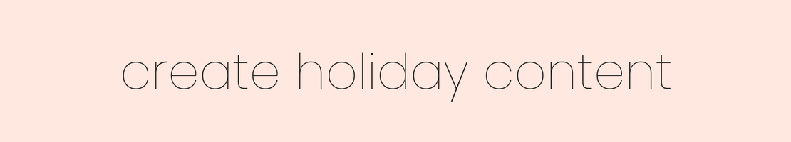 """Just say """"no"""" to cookie-cutter posts this holiday season. Here's exactly how to write a holiday-themed blog post, whether you've got your sights set on a tutorial, a gift guide, or an on-brand post that's inspired by the season.   by Brittany Taylor   Brand stories, blog posts, and bios for professional people"""