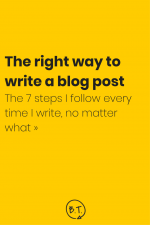 A solid process helps you write better-quality content in less time than you thought possible. Take a peek behind the ghostwriting curtain. Here is the step-by-step blog post writing process that I use for each of my ghostwriting clients. | by Brittany Taylor | Brand stories, blog posts, and bios for professional people
