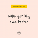 If you want your website to be a place your target audience loves to linger—and send your traffic statistics soaring—start by focusing on the way it reads. Here's how to design your blog to gain fans and increase pageviews. | by Brittany Taylor | Brand stories, blog posts, and bios for professional people