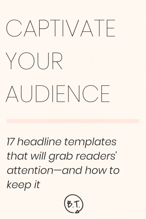 Itching to ensnare your readers in seconds? Desperate for clicks and shares to dog your blog post's digital footsteps? Snag this Scorpio's favorite blog post headline templates—and put them to work year-round. | by Brittany Taylor | Brand stories, blog posts, and bios for professional people