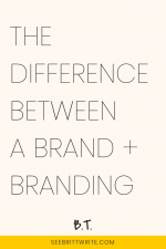 What's the difference between a brand and branding? Here's how to tell the two concepts apart—and figure out how exactly they fit together. Plus: the 5 elements of a brand.