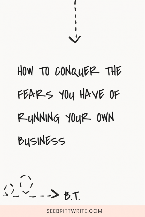 Most bosses are scared to death. Here are 99 absolutely normal business fears plus the resources you need to conquer each and every one of them.
