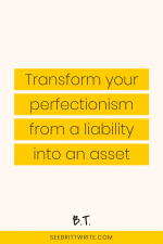 Figure out if your own high bar is intimidating, annoying, or otherwise pissing off your clients, future leads, and randos who come across your admittedly awesome work. Then, troubleshoot your perfectionist behaviors and perfectionism problems.