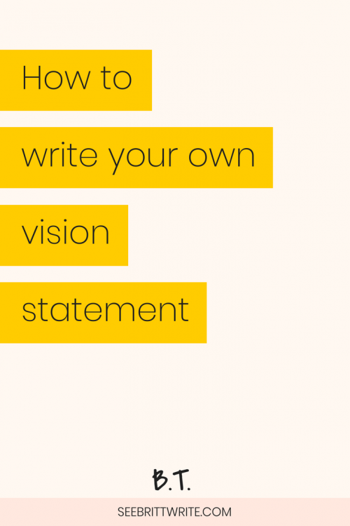 What does the future hold for you and your business? Developing a vision statement can help you figure out a 5-year-plan for your creative business, drive your momentum as an entrepreneur, and help you establish goals that will keep your brand on-track. Here