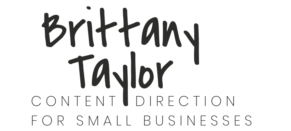 Brittany Taylor | brand stories, blog posts, and bios for professional people | Charleston, S.C.